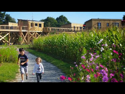 Prendre l'air en famille aux Terrasses de Kervallon - Caro - Morbihan - Bretagne