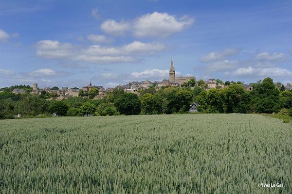 Panorama sur Bécherel