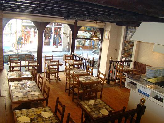 Crêperie Gallo salon de thé Saint-Malo