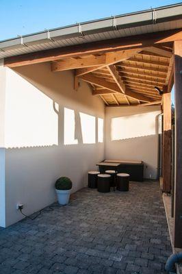 RETOUR DE PECHE.terrasse. StMalo