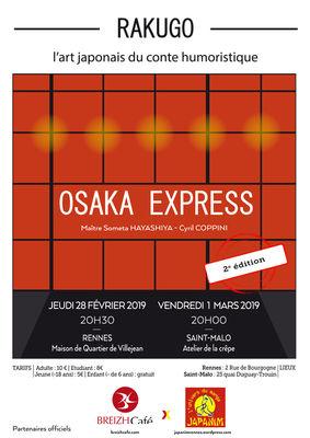 Rakugo Osaka Express - Saint-Malo - 1mars2019