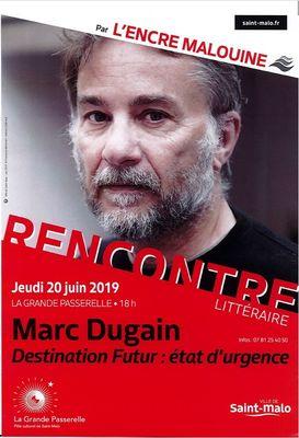 Rencontre Marc Dugain 20juin2019