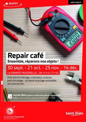 Repair café - Saint-Malo