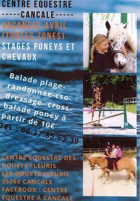 Stages Douets Fleuris Vacances de Pâques 2019