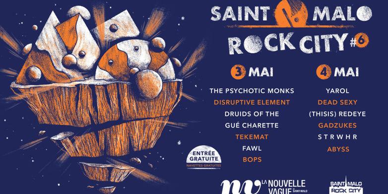 Saint-Malo Rock City - Saint-Malo - 3et4mai2019