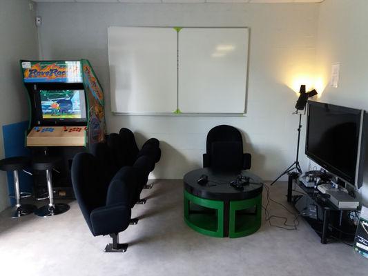 Salon retro-gaming.Studio de réalité virtuelle Saint Malo