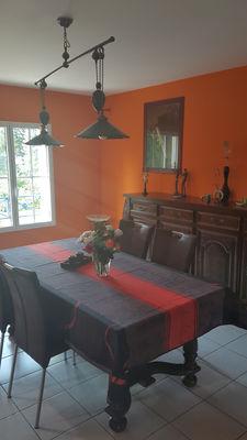 Salle à manger - La Maison de la Plage - Saint-Malo - Eric LECOURTOIS - utilisation illimitée