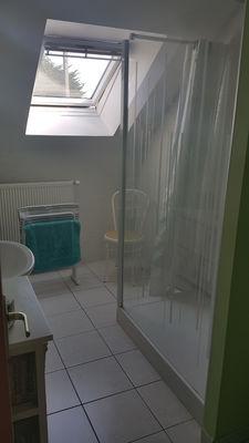 Salle d'eau de  La Maison de la Plage - Saint-Malo - Eric LECOURTOIS - utilisation illimitée