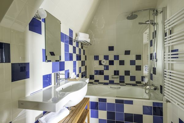 Salle de bain - Hôtel Aubade - Saint-Malo