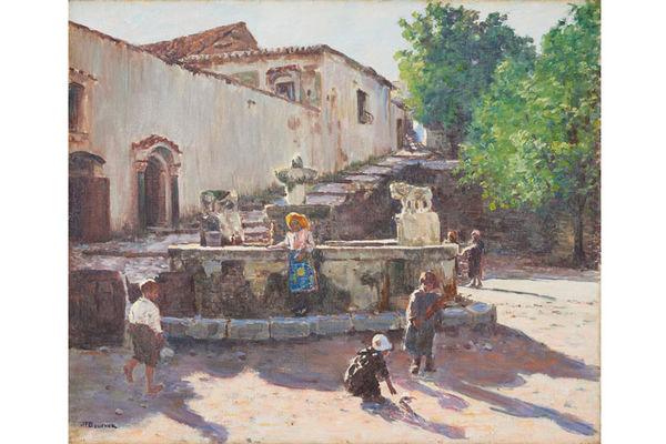 La fontaine de Ravello - Félix Bouchor