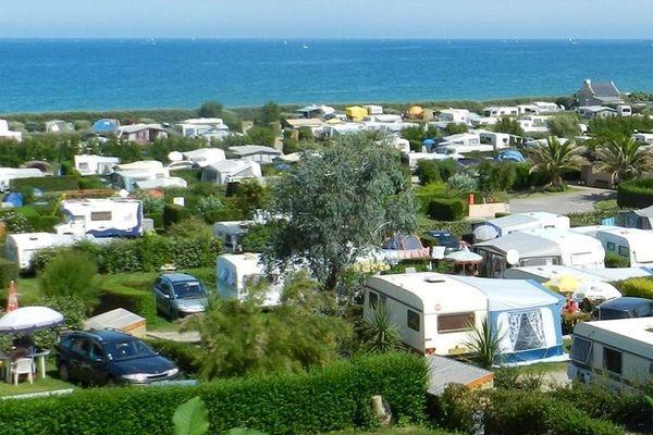 Camping La Plage de la Ville Berneuf