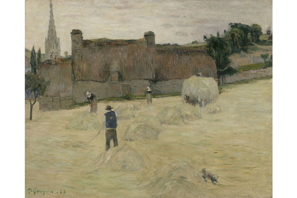 Paul GAUGUIN (1848-1903) - La Fenaison en Bretagne