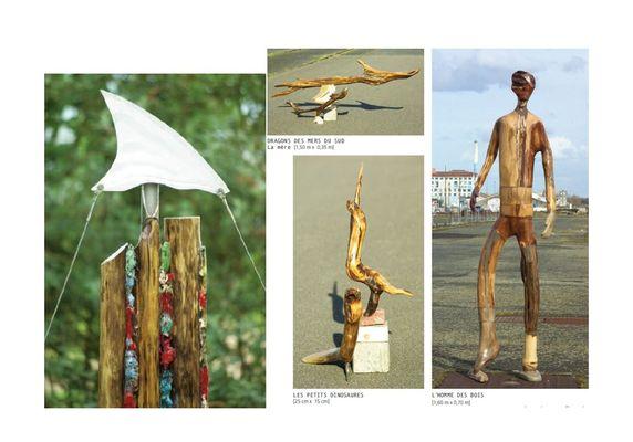 Sculpture Jean-Jacques Chauvin