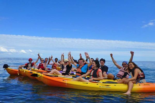Sillages école de kayak de mer