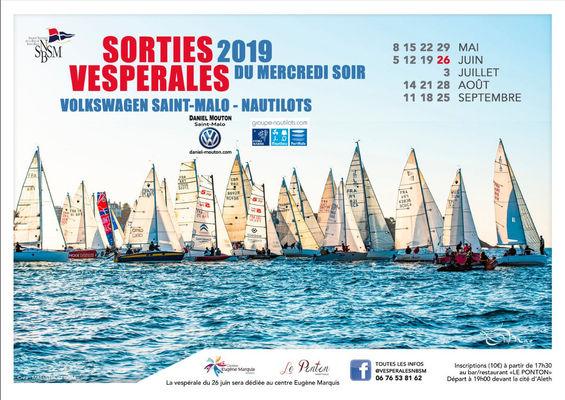 Sorties vespérales SNBSM - Saint-Malo - été2019