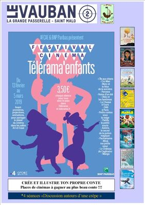 Telerama enfants 2019