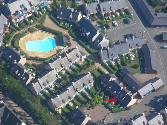 Vue aérienne - Cyprès 90 Mitteaux-Martin - Saint-Malo