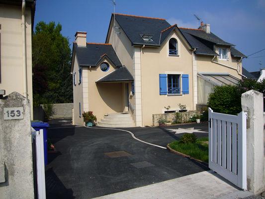 Vue de l'avenue de La Maison de la Plage - Saint-Malo - Eric LECOURTOIS - utilisation illimitée