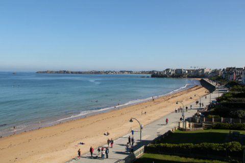 Vue plage bis - Rubin - Saint-Malo