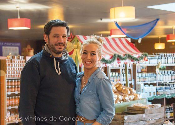 Vincent et Jennifer Guella - Maison Guella - Cancale