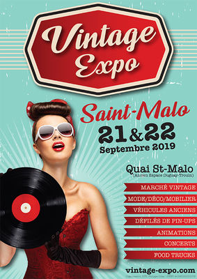 Vintage expo - Saint-Malo - 21et22sept