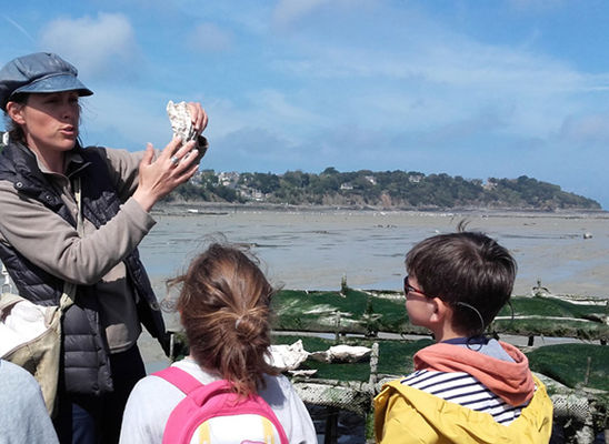 Visite Parcs huitres ©Saint-Malo Tourisme