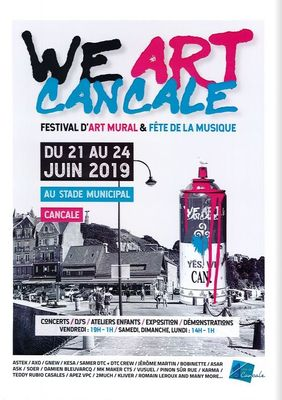 We Art Cancale 21-24juin19