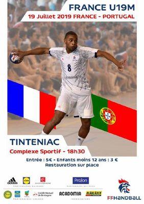 match handball 19juillet