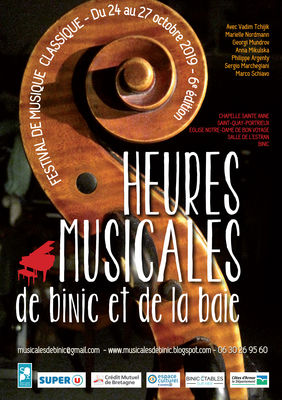 affiche heures musicales 2019