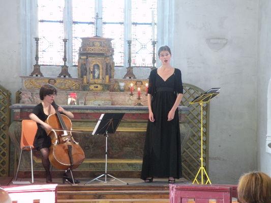Duo Machka à la chapelle Notre-Dame du Val