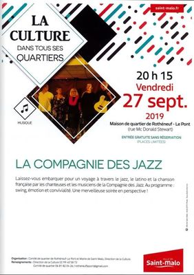 compagnie des Jazz 27spt2019