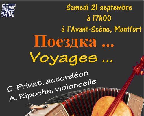 Concert Voyage Académie Paul Le Flem