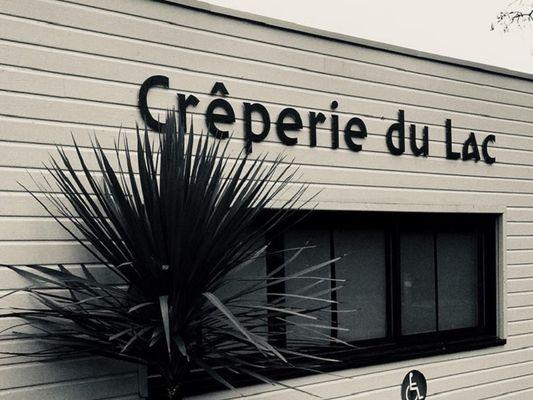 crêperie du lac - exterieur - lac au Duc - Taupont - Morbihan