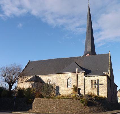 église de Québriac - mairie