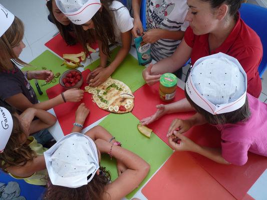 Atelier de cuisine mini chefs - Guilvinec - Pays bigouden