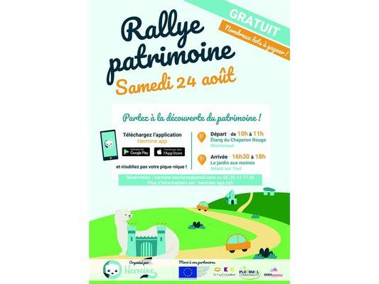 Rallye Patrimoine Brocéliande