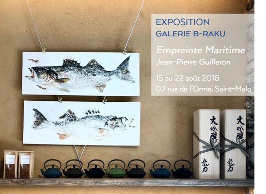 Galerie B-RAKU Breizh café Saint-Malo