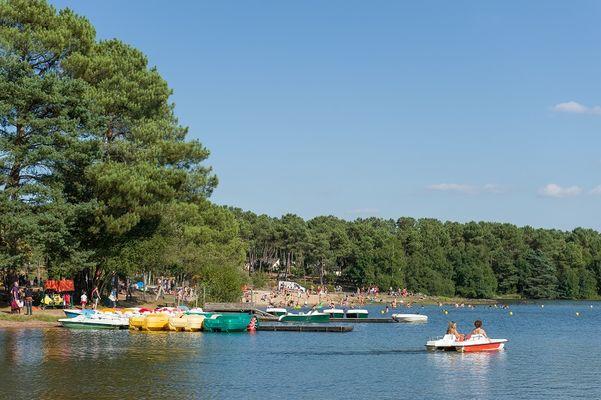 lac de Trémelin Iffendic Broceliande©Emmanuel Berthier
