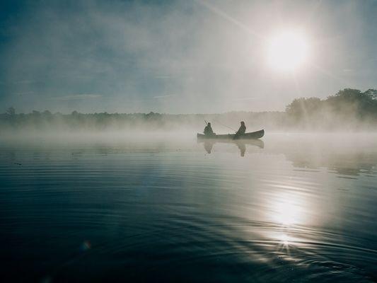peche - lac au Duc - Ploërmel - Bretagne