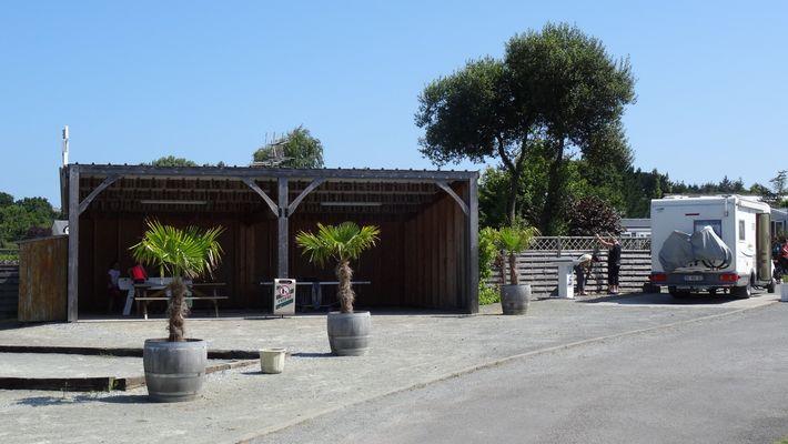 Camping car et  espace jeux - Camping - Saint Briac