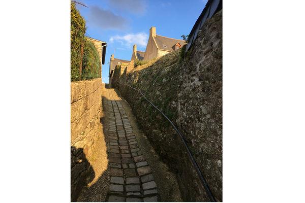 ruette du petit puits - Saint-Suliac - ©SMBMSM