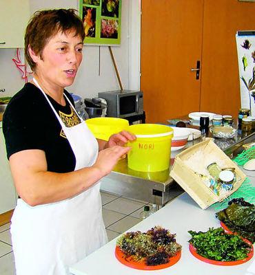 Atelier cuisine sur les algues - Scarlette Le Corre - Guilvinec - Pays Bigouden