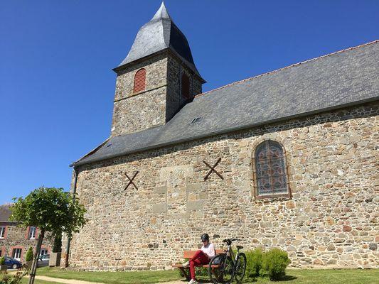 ©OT SMBMSM Eglise de Cherrueix