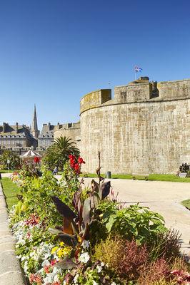 Jardin des Douves - Saint-Malo