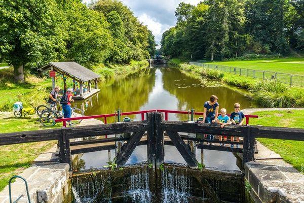 ©sBourcier - Canal et écluses Hédé-Bazouges (2)