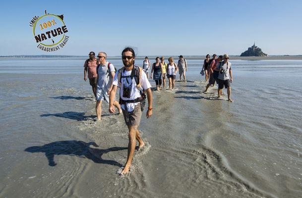 Escapades en Baie du Mont-Saint-Michel avec des guides nature