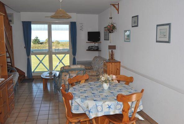 2 Appartement  211 séjour repas Résidence la Baie des Corsaires St Malo