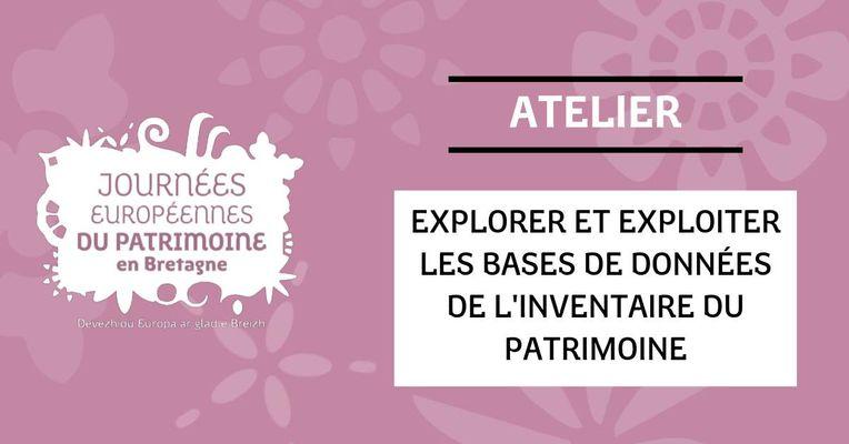 2019-09-26-JEP-atelier-basesdedonneesinventaire-cledencapsizun