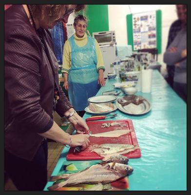 Atelier cuisine sur le poisson - Scarlette Le Corre - Guilvinec - PAys Bigouden