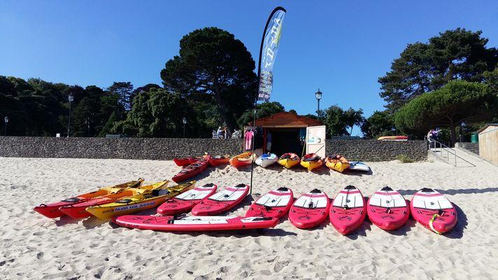 Balade Kayak 35 Dinard - Plage du Prieuré